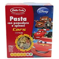 Pasta, con Pomodoro e Spinaci Cars