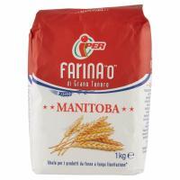 """Farina """"0"""" di Grano Tenero Manitoba 1 Kg"""