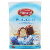 Bianco Cuore Cioccolato al Latte con Crema al Latte e Cereali