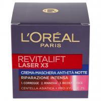 Revitalift Laser X3 Crema-maschera Anti-età Notte