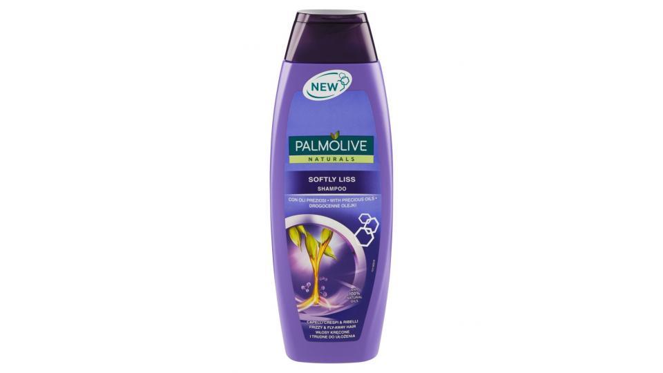 Naturals Softly Liss Shampoo Capelli Crespi & Ribelli