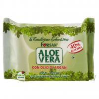 Aloe Vera 20 Salviette Struccanti