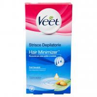 Strisce Depilatorie Hair Minimizer Pelli Sensibili 16 Pz.