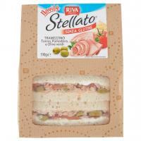 Stellato senza Glutine Tramezzino Tonno, Pomodoro, e Olive Verdi