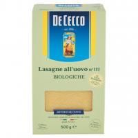 Lasagne all'Uovo N° 112 Biologiche