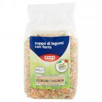 Zuppa di Legumi con Farro