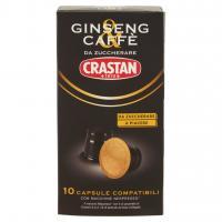 Ginseng & Caffè da Zuccherare Capsule Compatibili con Macchine Nespresso* 10 x 3,7 g