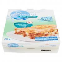 Senza Glutine Lasagne al Ragù di Carne e Besciamella Surgelate