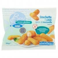 Senza Glutine Crocchette di Patate Ripiene di Mozzarella Surgelati