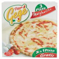 3 Pizze Margherita Prodotto Surgelato