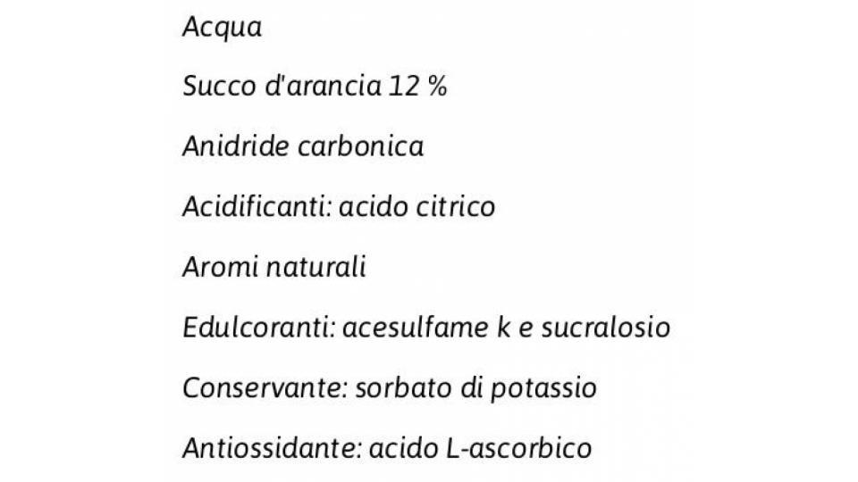 Light Aranciata 1,5 l