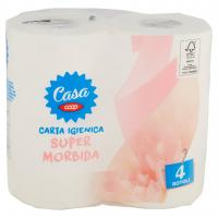 Carta Igienica Super Morbida 4 Pz