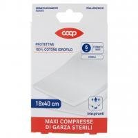 Maxi Compresse di Garza Sterili Formato Maxi 18x40 Cm 6 Pz