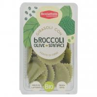 Scoiattolo Girasoli con Broccoli Olive Spinaci Bio