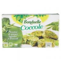 COCCOLE SPINACI/FAGIOLI/BROCCOLI