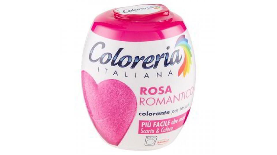 COLORANTE TESSUTI ROSA ROMANTICO