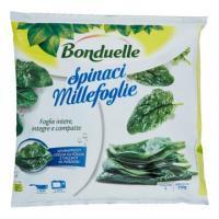 Bonduelle, spinaci millefoglie surgelati