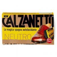 Calzanetto spugna lucidante per scarpe nere