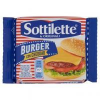 Sottilette Burger con Cheddar