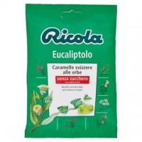 Ricola caramelle eucaliptolo senza zucchero busta