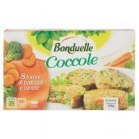 Bonduelle Coccole 8 tortini di broccoli e carote