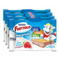 MERENDA LATTE E FRAGOLA