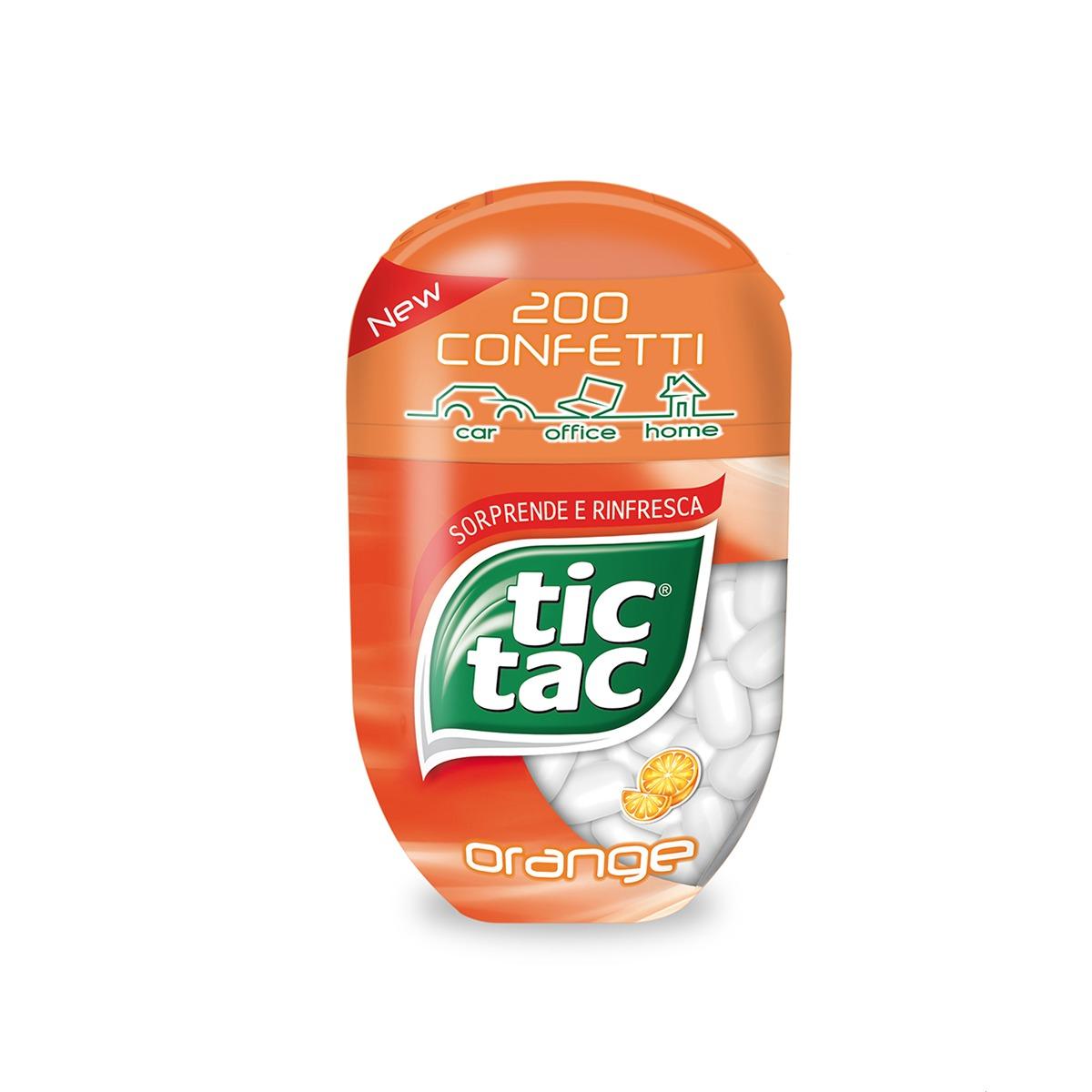 TIC TAC BOTTLE ARANCIA
