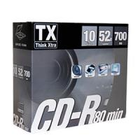 CD-R 80' 52X SLIM